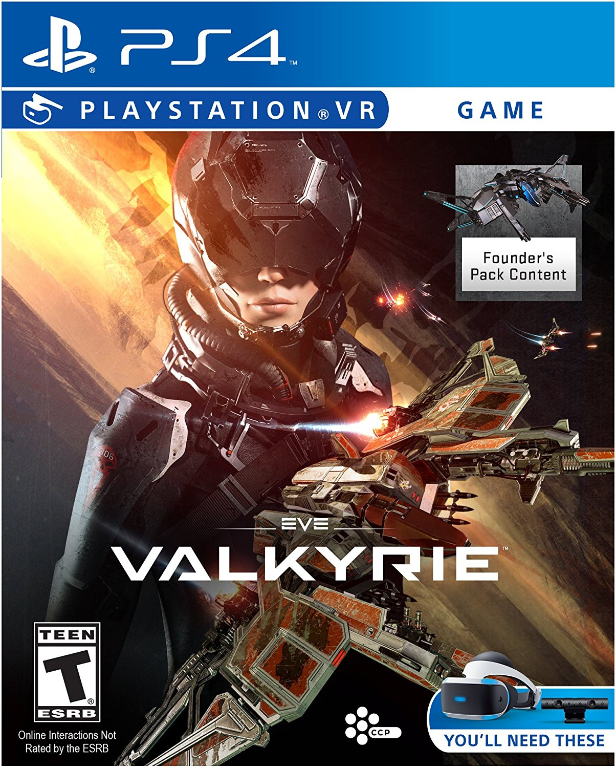 PS4 PSVR EVE: Valkyrie