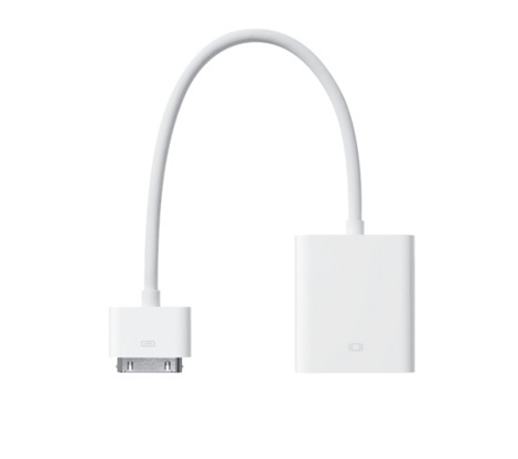 Apple iPad Dock Connector - VGA adapter