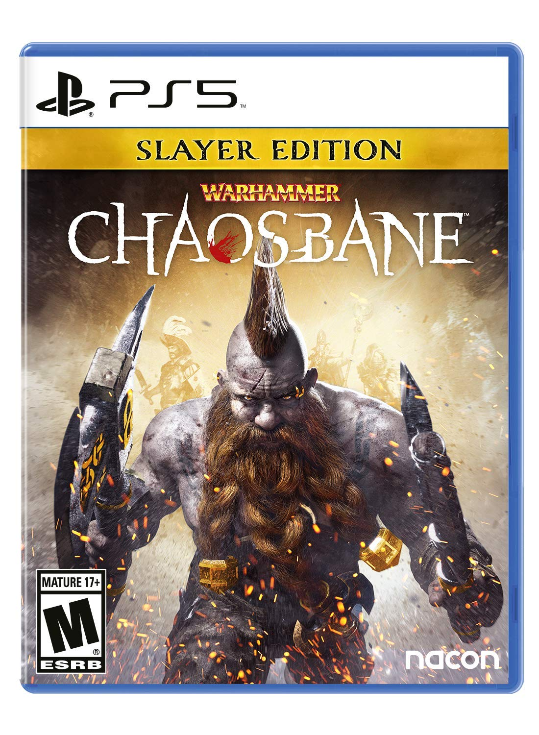 PS5 Warhammer Chaosbane Slayer Edition PlayStation 5