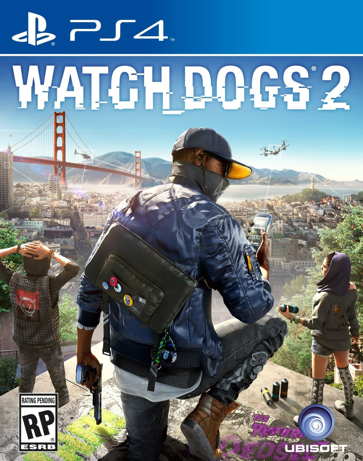 PS4 Watch Dogs 2 (PlayStation 4)