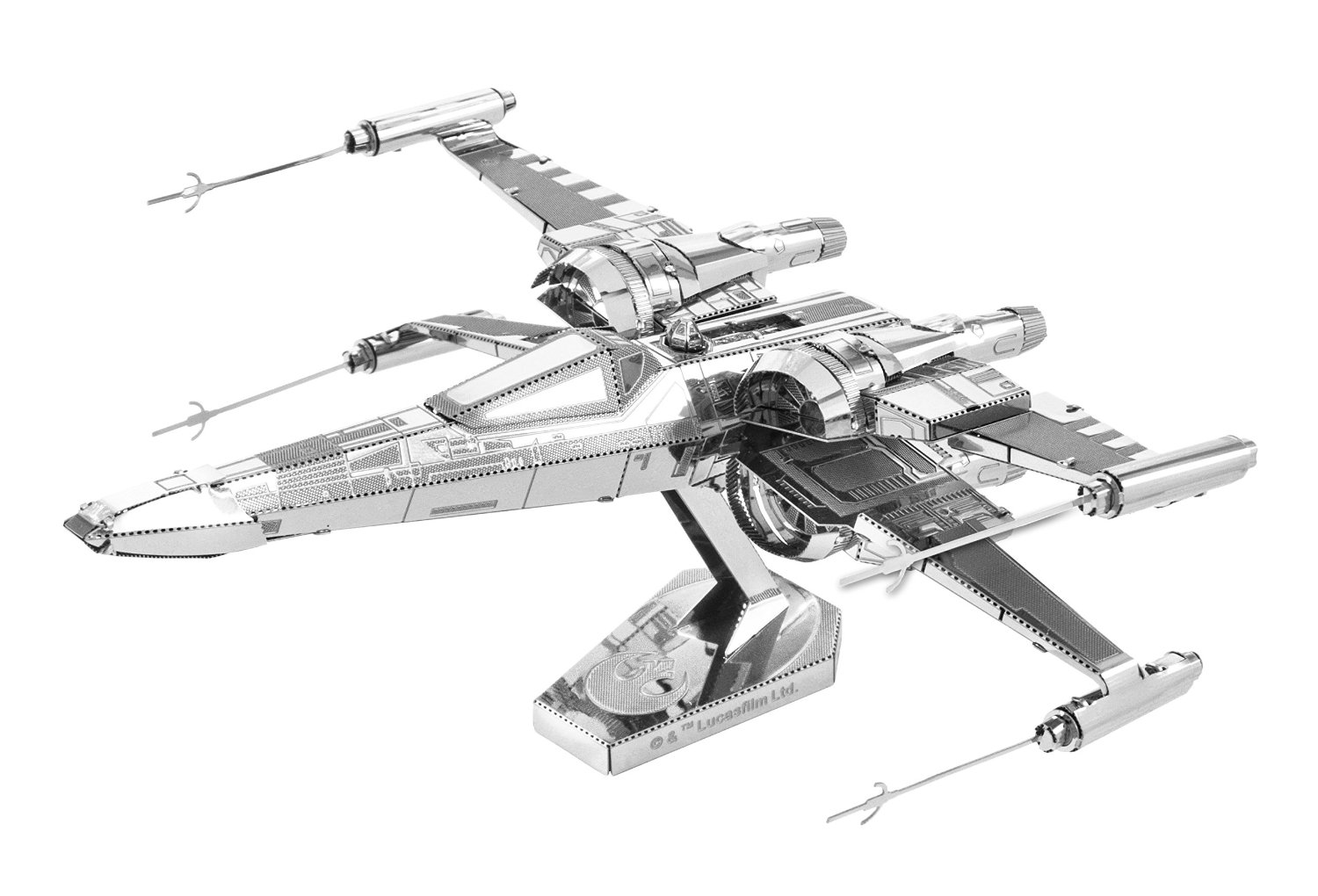 Metallic nano puzzle Premium Star Wars X Wing