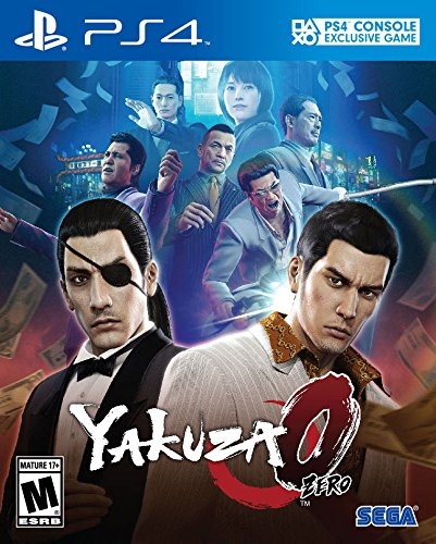 PS4 Yakuza 0 USA
