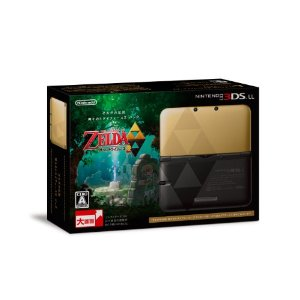 3DS LL The Legend of Zelda: Kamigami no Triforce 2 Pack Limited