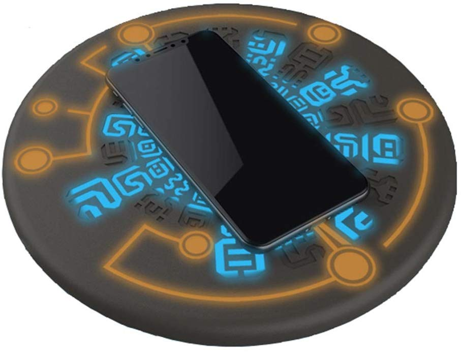 Zelda Wireless Charger Sheikah Slate Phone Charger Magic Circle