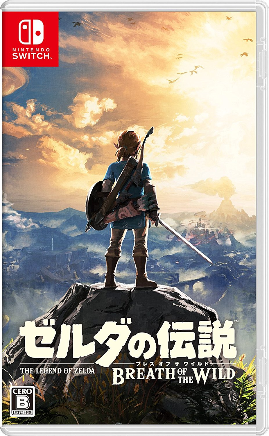 The Legend of Zelda: Breath of the Wild Switch JP