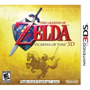 3DS - The Legend of Zelda: Ocarina of Time 3D US